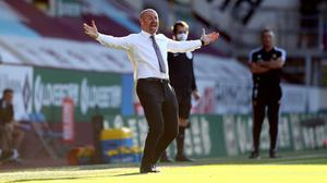 Sean Dyche has hinted the club could look abroad in the summer transfer window (Michael Steele/NMC Pool/PA)