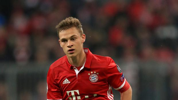 Bayern Munich's Joshua Kimmich is a reported target for Manchester City
