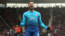 Olivier Giroud has been a back-up player for Arsenal this season