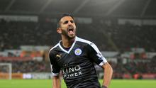 Mahrez has never hidden his long-term desire to play for Barcelona. Photo: PA