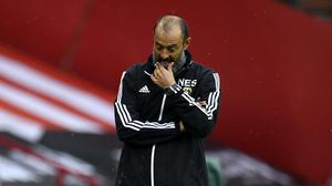Wolves boss Nuno Espirito Santo has challenged his players to rediscover their confidence (Peter Powell/NMC Pool/PA)