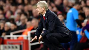 Arsene Wenger has seen Arsenal lose five out of their last eight games in all competitions