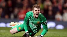 Manchester United goalkeeper David De Gea injured his hand on international duty with Spain