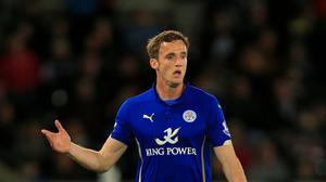 Andy King played for Leicester in their 2-0 defeat to Swansea on Saturday