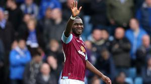 Christian Benteke, pictured, has been rejuvenated under Tim Sherwood