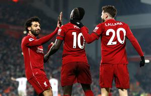 Liverpool have lost just once in the Premier League this season (Darren Staples/PA)