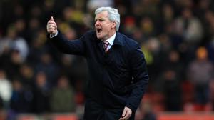 Stoke manager Mark Hughes wants a reaction from his players against Sunderland