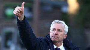 Alan Pardew returns to Selhurst Park for the first time as Crystal Palace manager on Saturday
