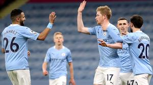 Manchester City eased to victory (Martin Rickett/PA)