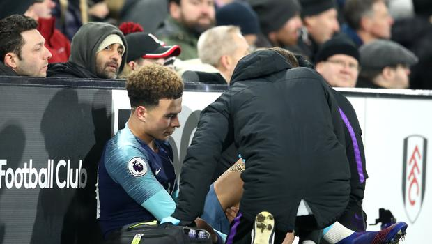 Injuries to Dele Alli, pictured, and Harry Kane have weakened Tottenham (Adam Davy/PA)
