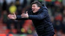Walter Mazzarri's are in the grip of an injury crisis
