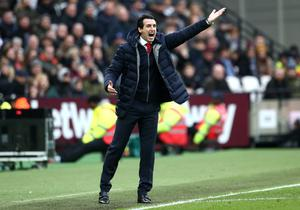 Emery saw his side slip to a 1-0 defeat to West Ham at the London Stadium last Saturday (Yui Mok/PA)