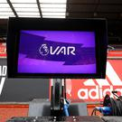 The pitchside monitors are yet to be used in the Premier League (Martin Rickett/PA)