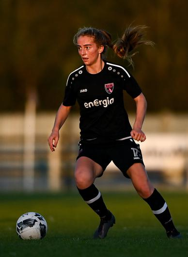 Wexford Youths player Aoibheann Clancy scored twice against Cork City. Photo: Sportsfile