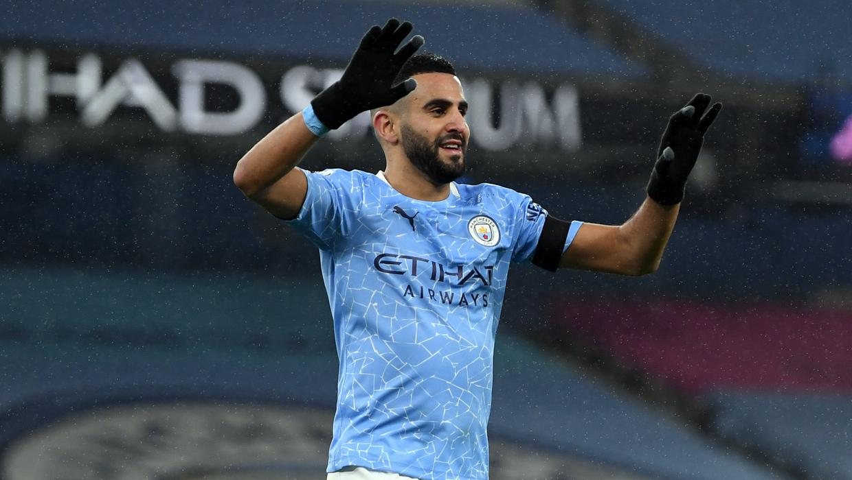 Riyad Mahrez was confident goals would flow for Manchester City