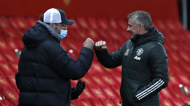 Liverpool manager Jurgen Klopp supported Manchester United counterpart Ole Gunnar Solskjaer's decision to play a weakened side (Phil Noble/PA)