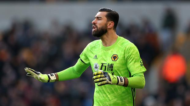 Wolves goalkeeper Rui Patricio is relishing the battle with Manchester City (Bradley Collyer/PA)