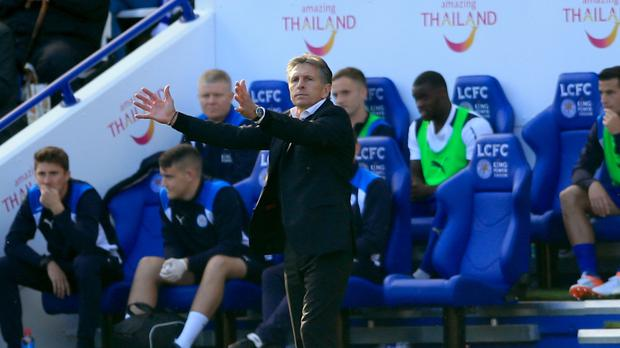 An animated Southampton manager Claude Puel felt the Saints should have beaten Leicester