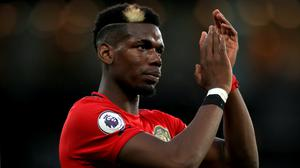 Paul Pogba has not played since Stephen's Day