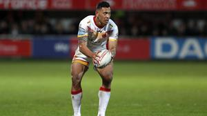 Castleford fans claimed they were not allowed rainbow flags at Folau's debut (AP Photo/Joan Monfort)