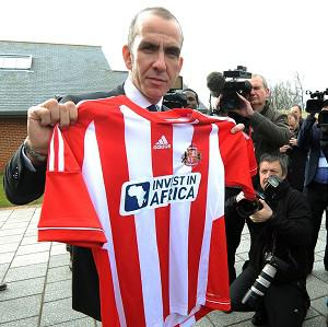 Paolo Di Canio, pictured, replaced Martin O'Neill as Sunderland boss
