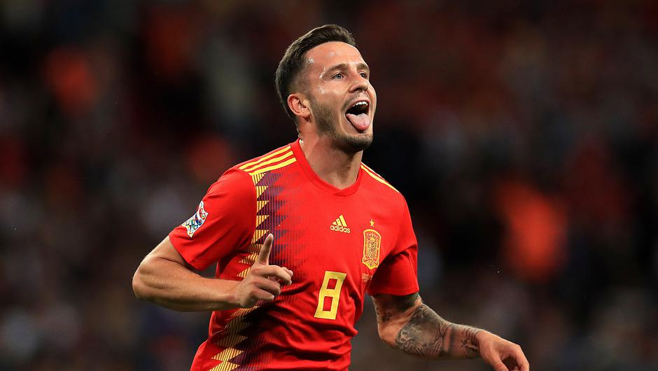 Spain's Saul Niguez is reportedly wanted by Premier League clubs (Mike Egerton/PA)