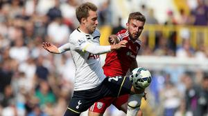 James Morrison, right, scored the only goal in West Brom's 1-0 win against Spurs