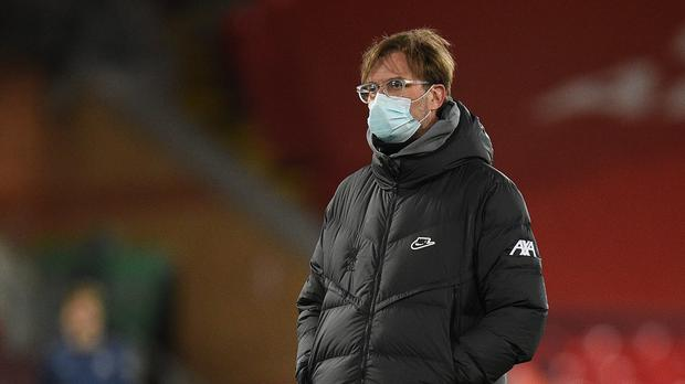 Jurgen Klopp took the blame for Liverpool's defeat (Oli Scarff/PA)
