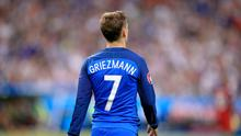 France striker Antoine Griezmann has been repeatedly linked with a move to Old Trafford