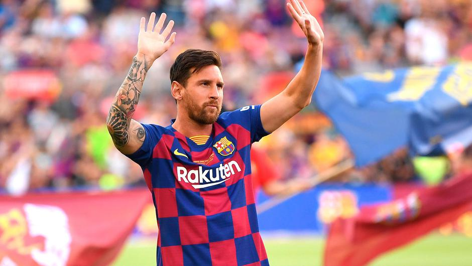 Lionel Messi is leaving soccer giants Barcelona. Photo: Getty Images