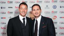 Frank Lampard (right) believes former teammate John Terry (left) would succeed if he follows him into management (JM Entertainational/PA)