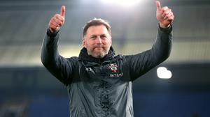 Ralph Hasenhuttl has signed a new contract at Southampton (Nigel French/PA)