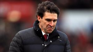 Boro fans' discontent grew as Aitor Karanka's side lost at Stoke