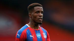 Crystal Palace's Wilfried Zaha was back to his best against Chelsea in midweek (Peter Cziborra/NMC Pool/PA)