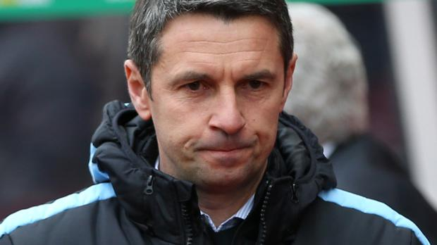 Remi Garde won just three of his 23 games in charge of Villa