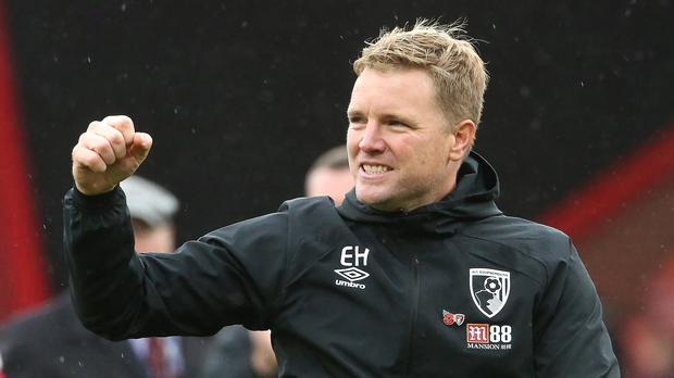 Eddie Howe is in his 11th full season as a manager (Mark Kerton/PA)