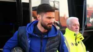 Olivier Giroud has agreed a contract extension with Chelsea (Mark Kerton/PA)