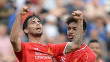Suso, left, is keen to move to AC Milan this summer