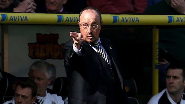 Rafael Benitez insists Newcastle can still stay up despite loss at Norwich