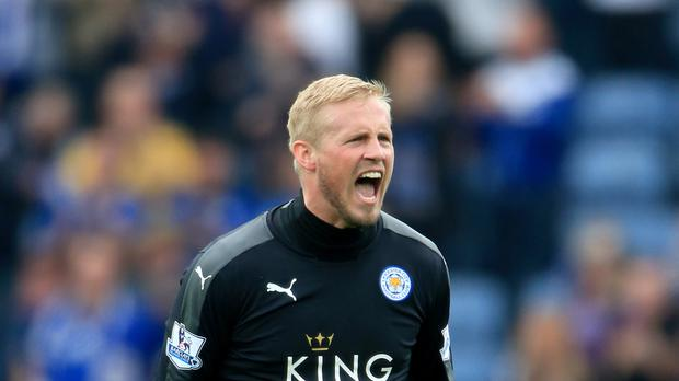 Leicester goalkeeper Kasper Schmeichel has kept four clean sheets in his last four games