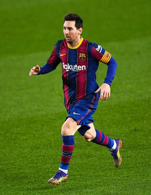 Lionel Messi of FC Barcelona. Photo: David Ramos/Getty Images