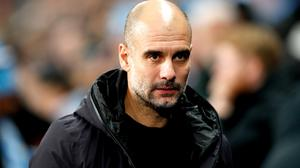 Pep Guardiola has released a message to supporters (Martin Rickett/PA)