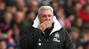 Newcastle head coach Steve Bruce has called for the Premier League to be suspended because of the coronavirus outbreak (Mark Kerton/PA)
