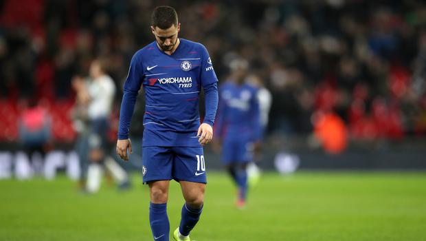 Chelsea midfielder Eden Hazard has found himself deployed in a more central attacking role (Nick Potts/PA)