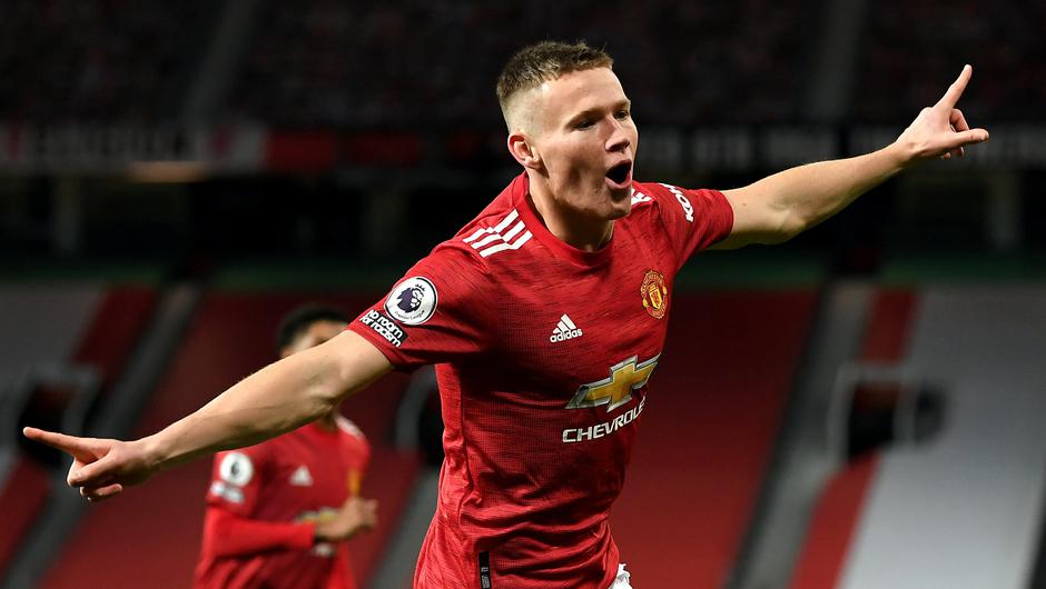 Scott McTominay got Manchester United off to a flying start (Michael Regan/PA)