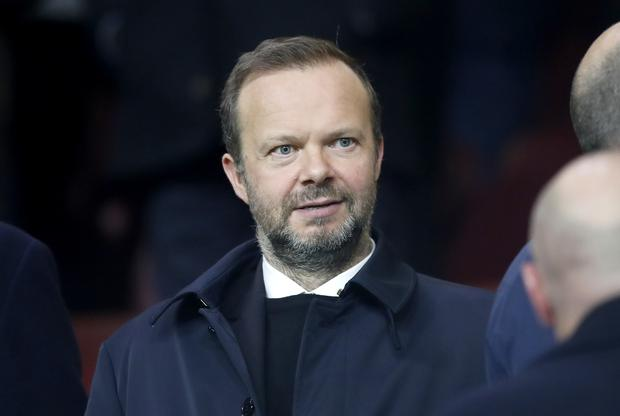 Ed Woodward is Manchester United's executive vice-chairman (Martin Rickett/PA).