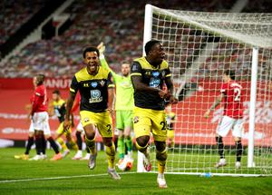 Southampton's Michael Obafemi struck late to deny Manchester United victory on Monday (Dave Thompson/NMC Pool)