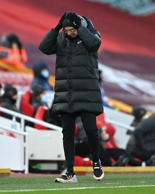 Liverpool boss Jurgen Klopp has admitted his side's challenge for the Premier League title is now over (Laurence Griffiths/PA)