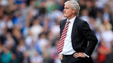 Mark Hughes' Stoke are out to end their poor record at the Emirates this weekend