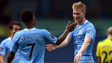 Kevin De Bruyne provided 20 Premier League assists this season (Shaun Botterill/PA)